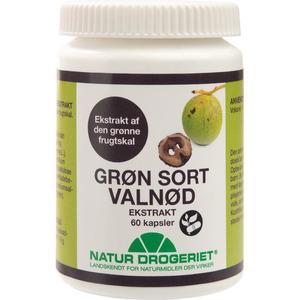 Natur-Drogeriet Grøn Sort Valnødekstrakt - 60 kap