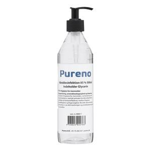 Pureno Håndsprit 85% - 500 ml