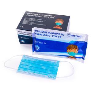 Protego mundbind til børn (type IIR) - 10 stk.