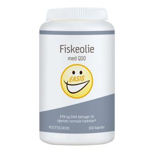 Easis Fiskeolie Med Q10