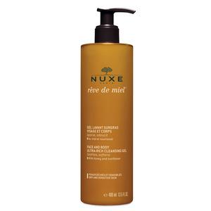 Nuxe Rêve de Miel Face & Body Ultra Rich Cleansing Gel - 400 ml