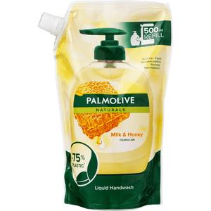 Palmolive Milk & Honey Doy-pack Håndsæbe - 500 ml.