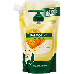 Palmolive Milk & Honey Doy-pack Håndsæbe - 500 ml.