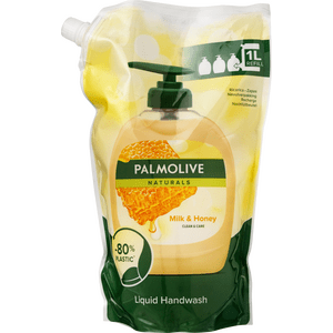 Palmolive Milk & Honey Håndsæbe Refill - 1000 ml.