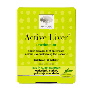 New Nordic Active Liver - 60 tabletter