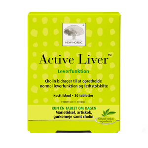New Nordic Active Liver - 30 tabletter