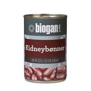 Biogan Kidney Bønner På Dåse Ø