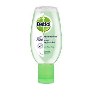 Dettol Anti Bacterial Gel - 50 ml.