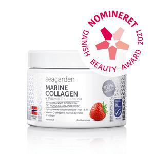 Seagarden Marine Collagen + Vitamin C Jordbærsmag