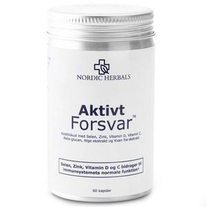 Nordic Herbals - Aktivt Forsvar, 60 kaps.