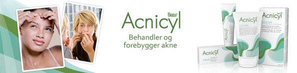 Køb Acnicyl mod uren hud og bumser billigt hos Med24.dk